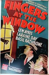Fingers at the Window 1942 DVD - Lew Ayres / Laraine Day